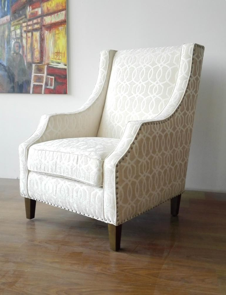 Most Current Quinn Teak Sofa Chairs Intended For Quinn Accent Chair (View 7 of 20)
