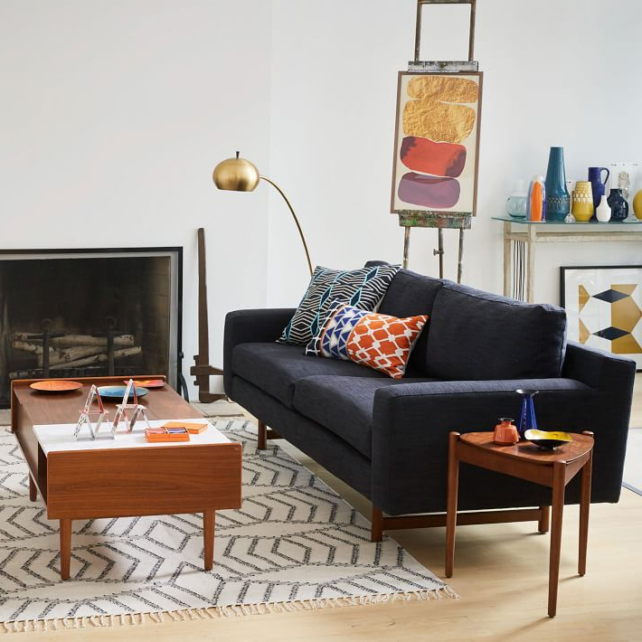 Most Current Where To Shop For Mid Century Modern Sofas In Elm Sofa Chairs (View 6 of 20)