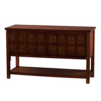 Most Popular Abbot 60 Inch Tv Stands Inside Amazon: Southern Enterprises Apothecary Console/tv Stand – Brown (View 13 of 20)