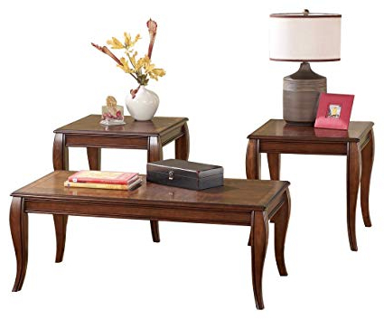 Most Popular Amazon: Ashley Furniture Signature Design – Mattie Occasional In Sofa Table Chairs (View 14 of 20)