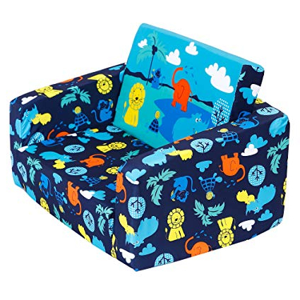 Most Popular Amazon: Mallbest Kids Sofas Children's Sofa Bed Baby's Inside Childrens Sofa Bed Chairs (View 19 of 20)