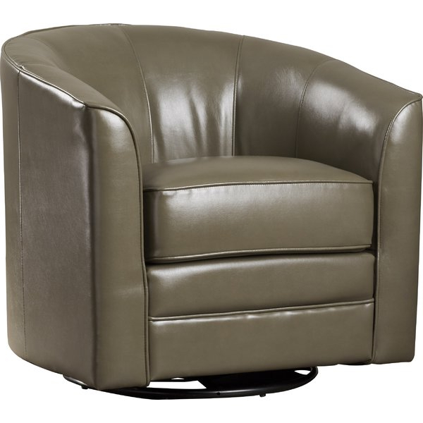 Most Popular Dark Grey Swivel Chair (View 7 of 20)