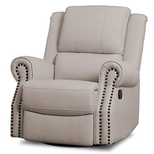Most Popular Decker Ii Fabric Swivel Glider Recliners In Swivel Recliner Chairs: Amazon (View 12 of 20)