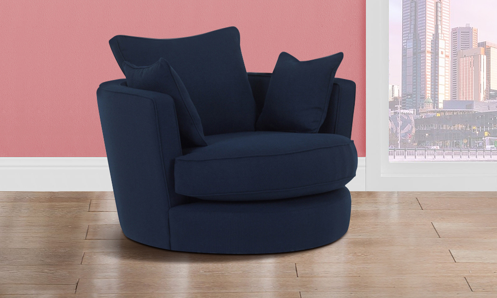 Most Popular Modern Big Round Sofa Chair From Aed  (View 6 of 20)