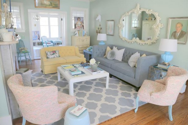 Most Popular The Antidote To The Sofa Loveseat Combination – The Decorologist With Sofa Loveseat And Chairs (View 12 of 20)