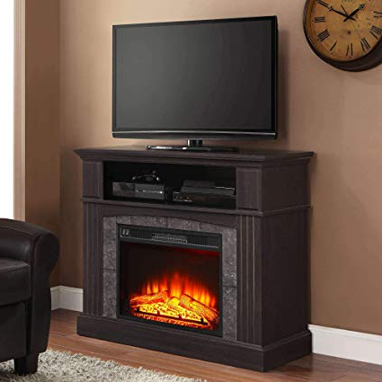Most Recent 50 Inch Fireplace Tv Stands In Amazon: Home Joy Fireplace Tv Stand Infrared Electric Insert (View 17 of 20)