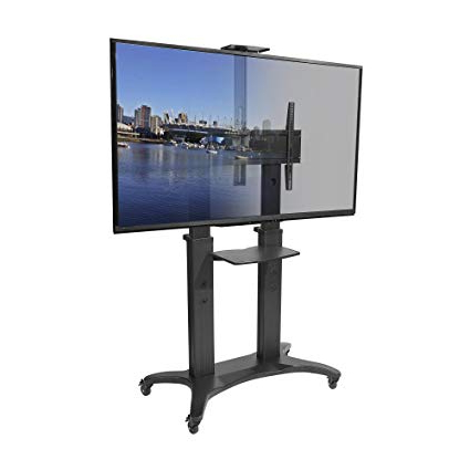 Most Recent 80 Inch Tv Stands Throughout Amazon: Kanto Mtma80Pl Mobile Tv Stand For 55 80 Inch Flat (View 13 of 20)