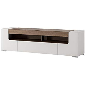 Most Recent 84 Inch Tv Stands Inside Amazon: Toronto Tv Cabinet – Medium – Central Living Room Tv (View 13 of 20)