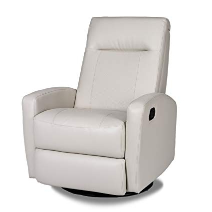 Most Recent Aspen Swivel Chairs Intended For Amazon: Opulence Home Stefan Swivel Glider Recliner, Aspen Taupe (View 12 of 20)