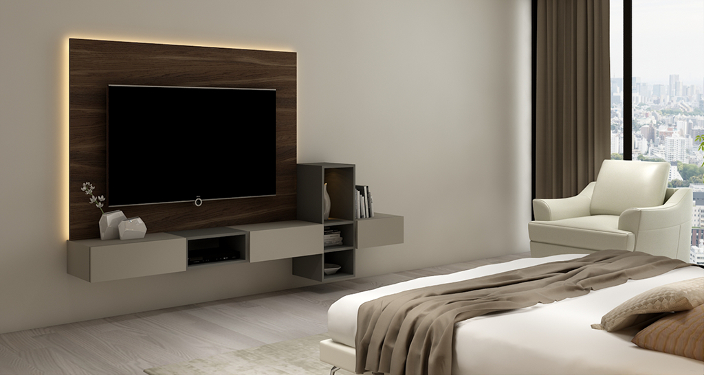 Most Recent Bedroom Tv Shelves Inside Bedroom Tv Units From Global Brands (Gallery 12 of 20)