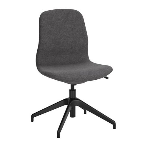 Most Recent Dark Grey Swivel Chairs Regarding Långfjäll Swivel Chair Gunnared Dark Grey/black – Ikea (View 2 of 20)