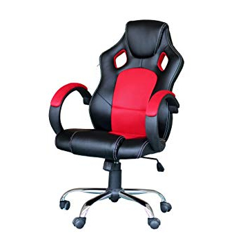 Most Recent Ebs® Racing Gaming Computer Swivel Executive Office Chair Ergonomic With Regard To Chill Swivel Chairs With Metal Base (View 13 of 20)