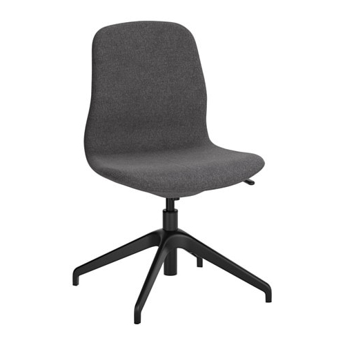 Most Recent Långfjäll Swivel Chair Gunnared Dark Grey/black – Ikea With Grey Swivel Chairs (View 13 of 20)