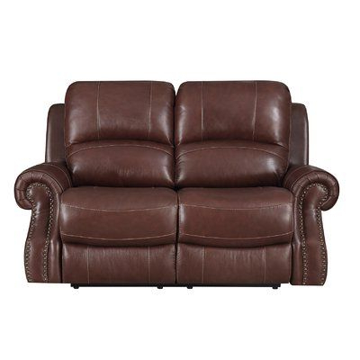 Most Recent Red Barrel Studio Montalto Reclining Loveseat Pertaining To Moana Taupe Leather Power Reclining Sofa Chairs With Usb (View 14 of 20)