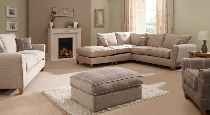 Most Recently Released 3 Seater Sofa And Cuddle Chairs Within Lois 3 Seater Sofa Standard Back (View 17 of 20)