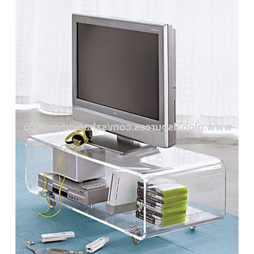 Most Recently Released Acrylic Tv Stands Pertaining To China Tv Stand From Shenzhen Manufacturer: Shenzhen Haoyu Home Co., Ltd (View 13 of 20)