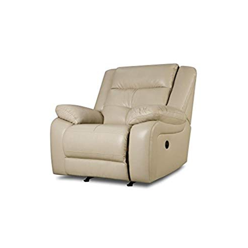 Most Recently Released Amala White Leather Reclining Swivel Chairs Inside White Leather Recliner Chair: Amazon (View 16 of 20)