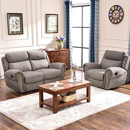 Most Recently Released Amazon: Harper & Bright Designs Sectional Sofa Set Including Regarding Harper Down Oversized Sofa Chairs (View 13 of 20)