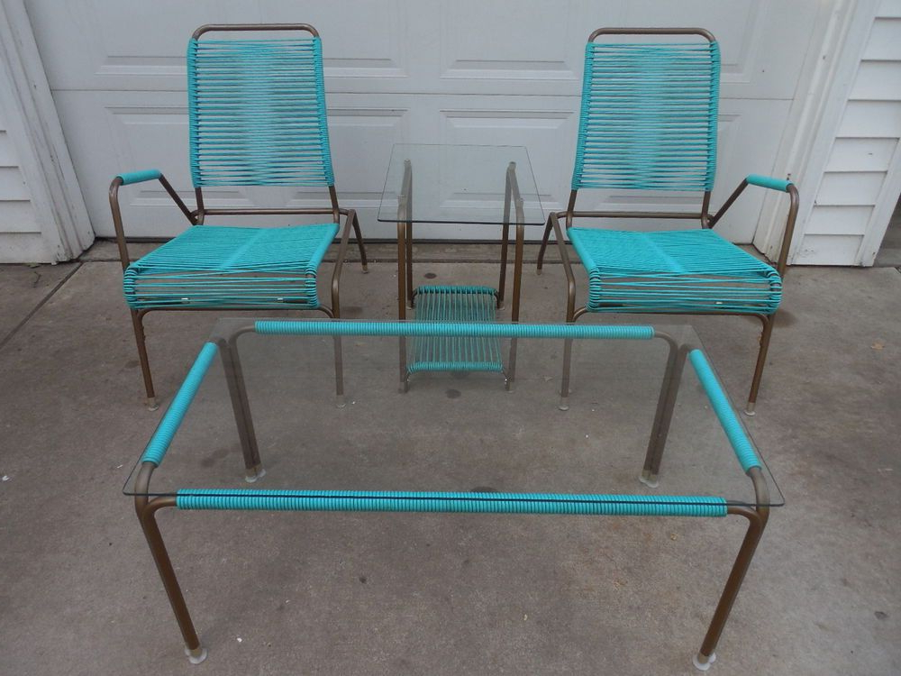 Most Recently Released Ames Arm Sofa Chairs In Rare Vintage Mid Century Modern Ames Aire Patio Chair Set W  (View 12 of 20)
