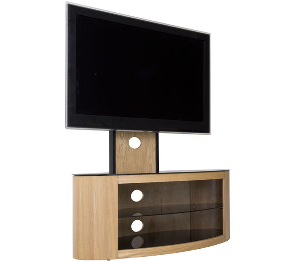 Most Recently Released Avf Tv Stands For Buy Avf Buckingham 1000 Mm Tv Stand With Bracket – Oak (View 17 of 20)