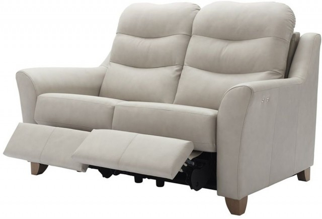 Most Recently Released G Plan Upholstery Tate (Leather) 2 Seater Power Recliner Double In Tate Ii Sofa Chairs (View 10 of 20)