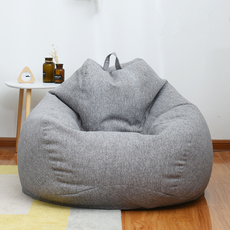 Most Recently Released Home Lazy Bean Bag Sofa Living Room And Bedroom Soft Beanbag Chair Inside Bean Bag Sofa Chairs (View 10 of 20)