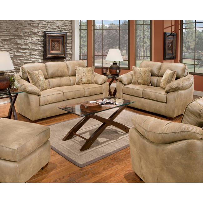 Most Recently Released Sierra Foam Ii Oversized Sofa Chairs In Shop Sierra Camel Sofa And Loveseat Set – Free Shipping Today (View 16 of 20)