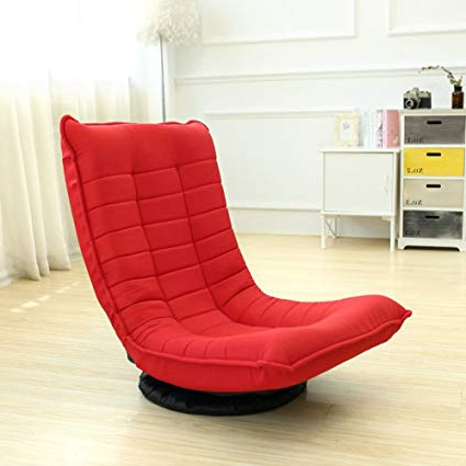 Most Recently Released Sofa With Swivel Chair Within Amazon: Tatami Lazy Sofa Folding Swivel Chair Removable Washable (View 7 of 20)