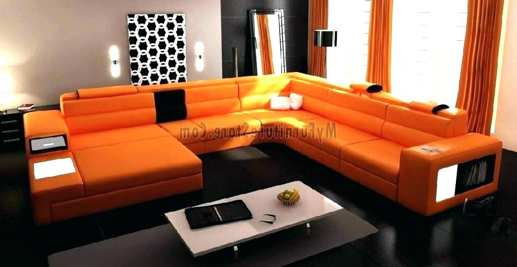 Most Up To Date Orange Sofa Chairs Inside Burnt Orange Furniture – Liveinaustralia (View 7 of 20)