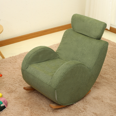 Most Up To Date Sofa Rocking Chairs Inside Baby Child Rocking Chair Child Solid Wood Sofa Chair Rocking Chair (View 4 of 20)