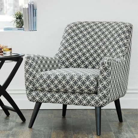 Most Up To Date The Lucy Chair Grey & Cream (View 8 of 20)