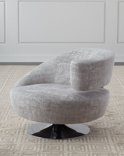 Neiman Marcus Inside Twirl Swivel Accent Chairs (Gallery 5 of 20)