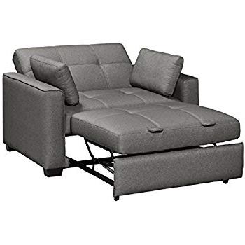 Newest Allie Dark Grey Sofa Chairs Inside Amazon: Ashley Furniture Signature Design – Zeth Sleeper Sofa (View 18 of 20)