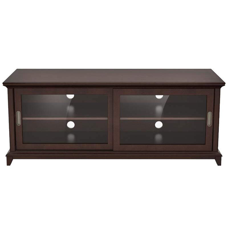 Newest Annabelle Blue 70 Inch Tv Stands Within Furnitech Transitional 70 Inch Tv Stand Mid Century Modern Tv Cabinet (View 13 of 20)