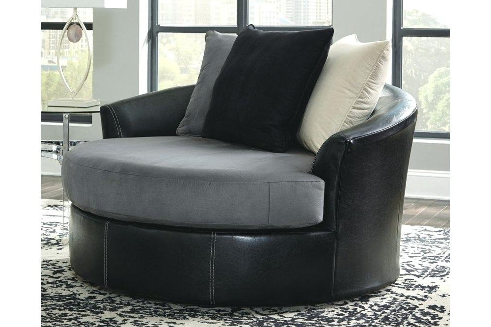 Newest Circuit Swivel Accent Chair Living Spaces Swivel Accent Chair Swivel Intended For Amari Swivel Accent Chairs (Gallery 8 of 20)