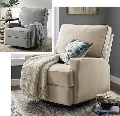 Newest Hercules Oyster Swivel Glider Recliners Inside Large Swivel Glider Recliners Nursery Armchair Recliner Arm Chairs (View 14 of 20)