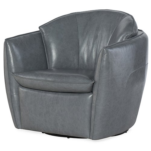 Newest Hooker Furniture Vogue Vintage Dark Gray Swivel Chair Cc213 Sw 096 With Regard To Dark Grey Swivel Chairs (Gallery 8 of 20)