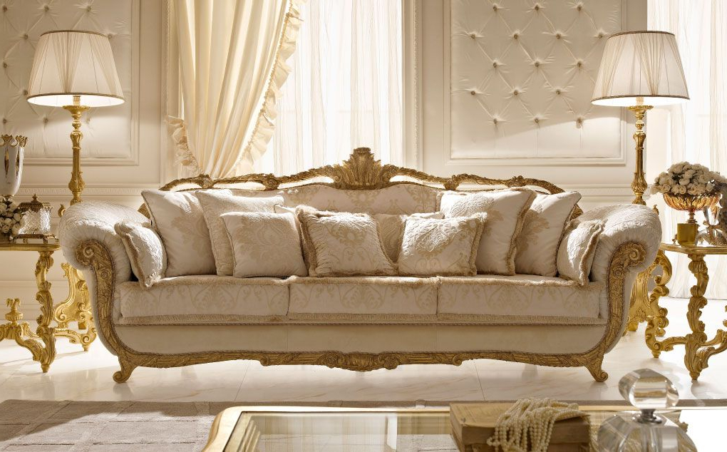 Newest Living Room Sofas And Chairs Throughout Italian Classic Luxury Wooden Living Room Furniture (View 17 of 20)