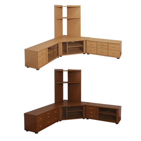 Newest Livingut: Set 3 Piece Tv Stand Corner Tv Stand Highly Ving Board With 40 Inch Corner Tv Stands (Gallery 14 of 20)