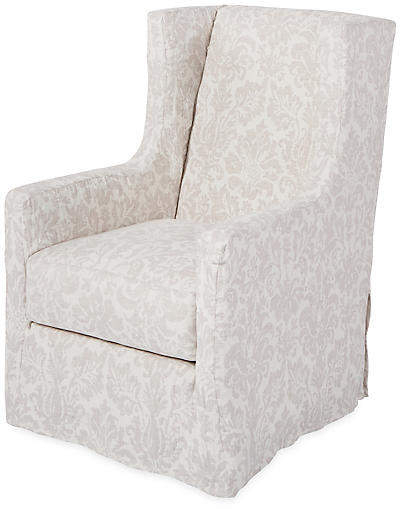 Newest Nichol Swivel Accent Chairs With Nicole Swivel Chair – Dove Linen In  (View 10 of 20)
