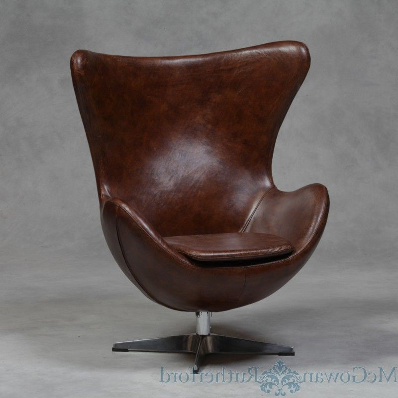 Newest Vintage Swivel Chair Vintage Leather Swivel Chair Seating Pertaining To Kawai Leather Swivel Chairs (View 10 of 20)