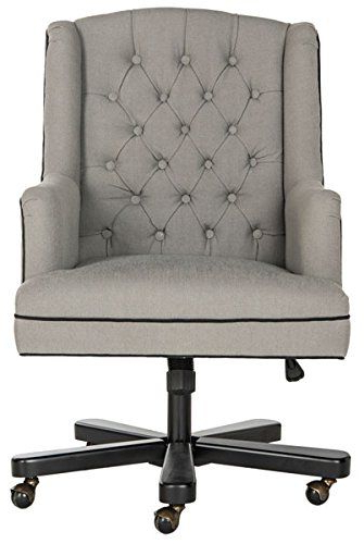 Nichol Swivel Accent Chairs Throughout Fashionable Safavieh Mercer Collection Nichols Granite And Black Office Chair (View 19 of 20)