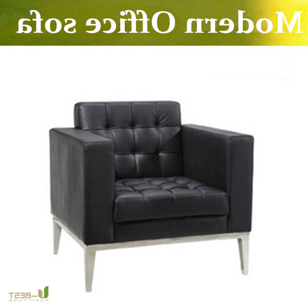 Office Sofa Chairs With Regard To Trendy ᐂu Best High Quality Real Leather ⑦ Reception Reception Office (View 12 of 20)