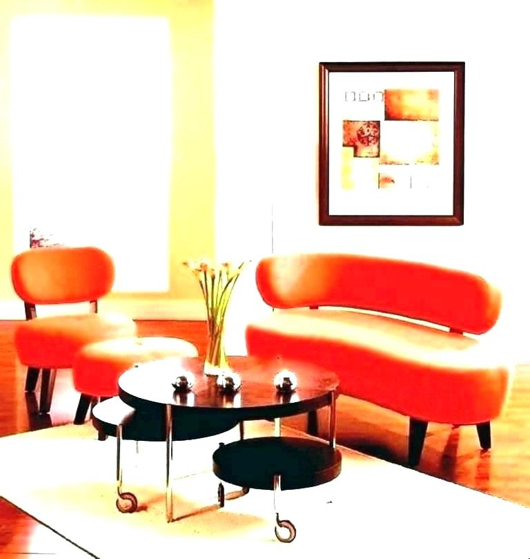 Orange Sofa Chairs With Regard To Well Known Burnt Orange Furniture Burnt Orange Sofa And Orange Leather Couch (Gallery 8 of 20)