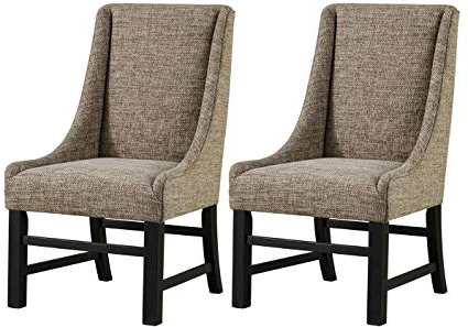 Patterson Ii Arm Sofa Chairs With Popular Amazon – Ashley Furniture Signature Design – Sommerford Dining (View 14 of 20)