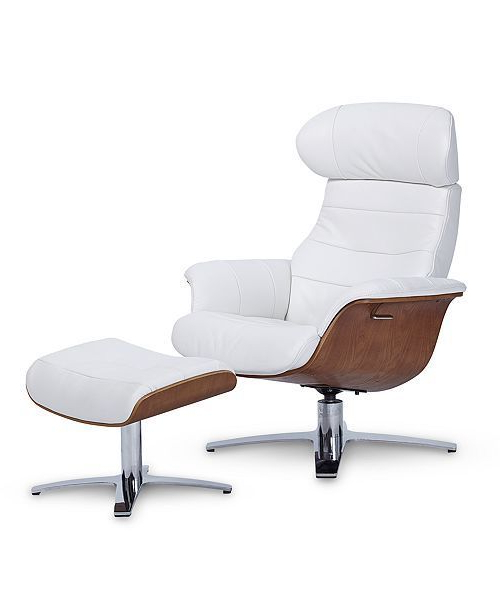 Pinterest In Favorite Amala White Leather Reclining Swivel Chairs (View 4 of 20)