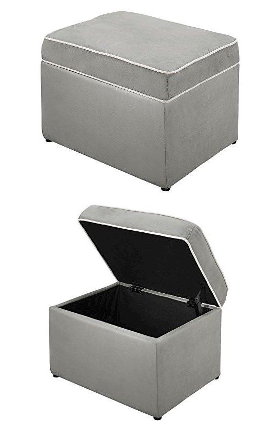 Popular Baby Relax The Abby Nursery Storage Ottoman For Baby Gliders With Regard To Abbey Swivel Glider Recliners (View 12 of 20)