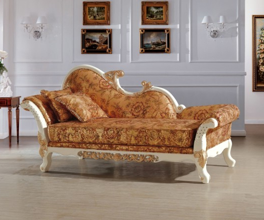 Popular Beautiful Luxury Italian Royal Style Chaise/ Lounge Chair/recliner For Chaise Sofa Chairs (View 14 of 20)