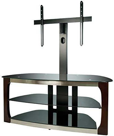 "Popular Bell O Triple Play Tv Stands With Regard To Amazon: Bell'o Tpc2133 Triple Play 52"" Tv Stand For Tvs Up To  (View 16 of 20)"