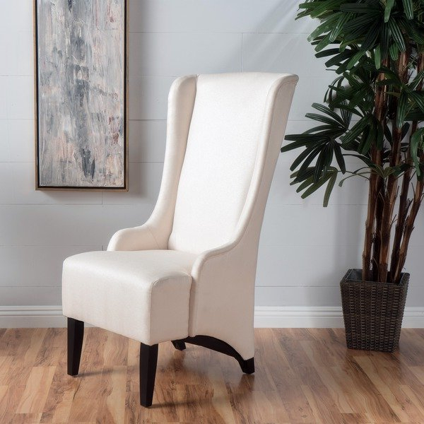 Popular Callie Sofa Chairs Pertaining To Shop Callie High Back Fabric Dining Chairchristopher Knight Home (View 13 of 20)